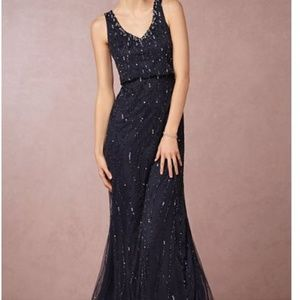 Adrianna Pappell Brooklyn Dress Size 6 Midnight